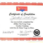Yoga Certificate-001